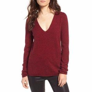 Zadig & Voltaire Nosfa Sequin Elbow Patch Sweater